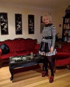 Gothic fashion blogger Christine of Hexotica