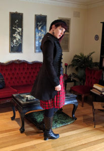 Hexotica_Alternative_Lifestyle_Blog_Red_Tartan_Dress