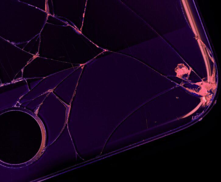 Broken phone.
